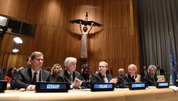 PRIMER PASO. El tratado aún debe ser ratificado por los países. (EFE)