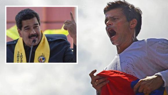 """Leopoldo López dice que diálogo que invoca Nicolás Maduro es \""""teatral\"""". (Agencias)"""