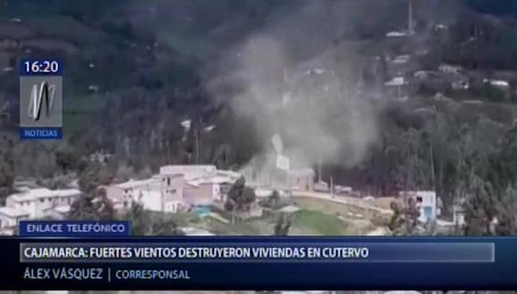 Este fenómeno duró aproximadamente 5 minutos; sin embargo, generó gran pánico entre los habitantes de la zona.(Video: Canal N)
