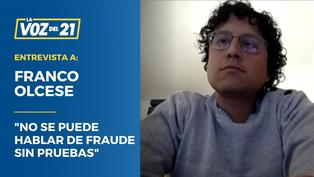 """Franco Olcese: """"No se puede hablar de fraude sin pruebas"""""""