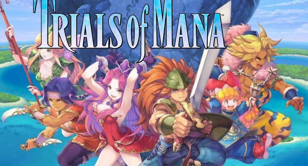 Trials of Mana llegará a inicios del 2020 a PS4,Nintendo Switch y PC.