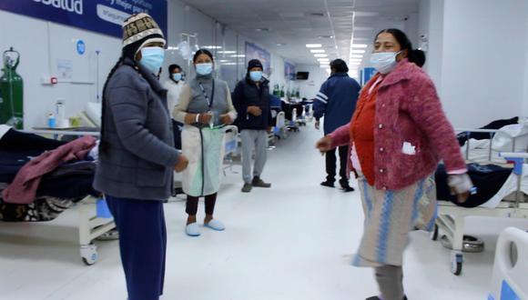 Pacientes con COVID-19 de Puno se recuperan con sesiones de bailoterapia. (Foto referencial: EsSalud)