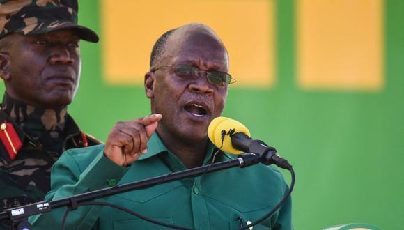 John Magufuli aseguraba que en Tanzania no habían casos de coronavirus. (Foto: ERICKY BONIPHACE / AFP)