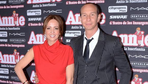 Andrea Legarreta y Erik Rubín están 20 años juntos, pero en algún momento pensaron en divorciarse (Foto: Televisa)