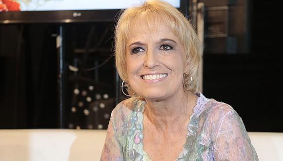 Regina Alcóver trabajará junto a Adolfo Chuiman por primera vez. (César Fajardo)