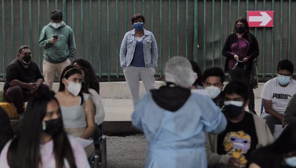 A la fecha se viene vacunando contra el COVID-19 a personas mayores de 18 años. (Foto: GEC)