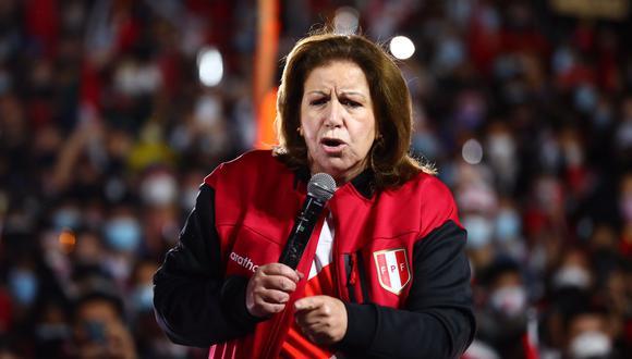 Lourdes Flores Nano dijo estar convencida de Keiko Fujimori ganó la segunda vuelta ( Hugo Curotto / GEC).