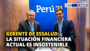 Alfredo Barredo: La situación financiera actual en ESSALUD es insostenible [VIDEO]