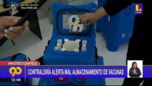 Contraloría alerta mal almacenamiento de vacunas contra el coronavirus