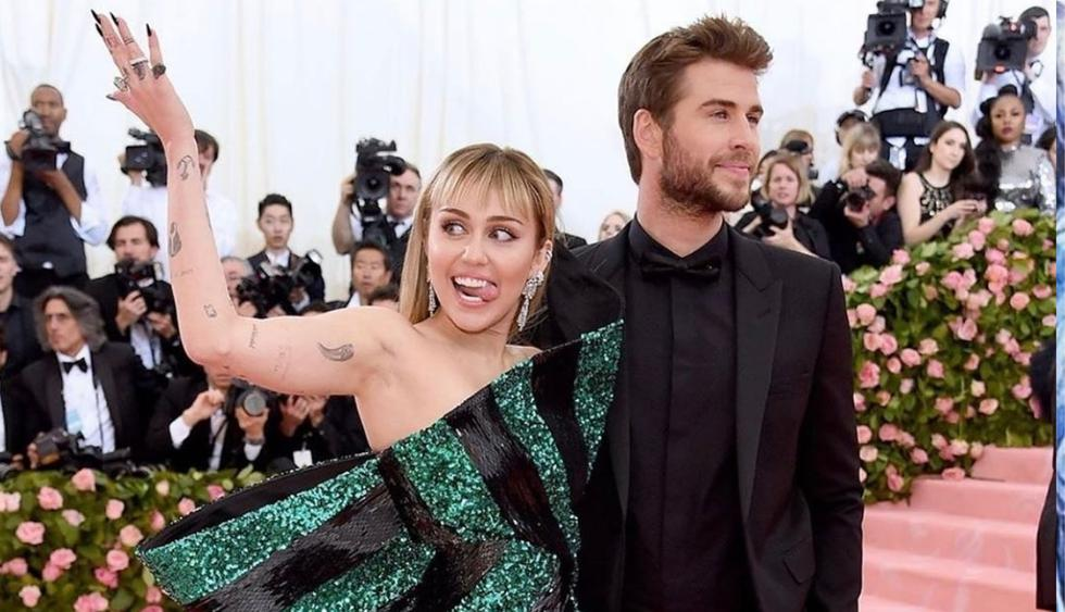 Miley Cyrus y Liam Hemsworth se estarían divorciando a menos de un año de casados  (Foto:@liamhemsworth)