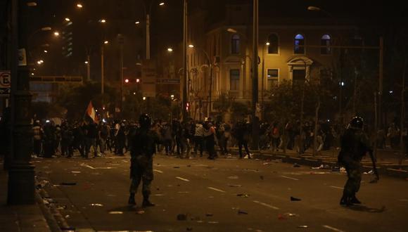 Las protestas contra el gobierno de Manuel Merino se iniciaron tras la vacancia de Martín Vizcarra. (Foto: Britanie Arroyo / @photo.gec)