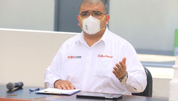 El titular de Justicia, Fernando Castañeda, se pronunció sobre decretos de urgencia emitidos por el Ejecutivo para el deshacinamiento de los penales.  (Foto: Ministerio de Justicia)