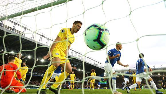 Everton acentúa la crisis del Chelsea tras ganarle por 2-0 en la Premier League. (Eveton/Facebook)