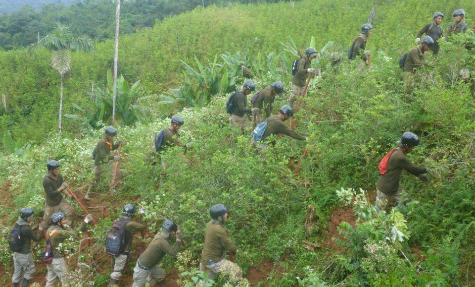 Las operaciones antidrogas del Corah se iniciaron el pasado 16 de febrero. (Ministerio del Interior)
