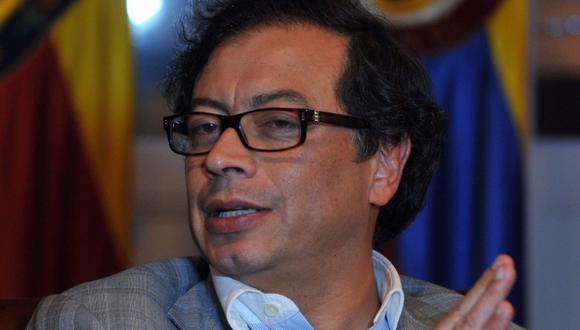Cuestionado Gustavo Petro. (AFP)