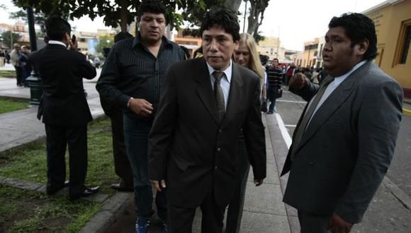 SOLO UNA VEZ. Ugarte dijo que no ha vuelto a ver a Alexis y no sabe nada de la adjudicación de la obra. (Rafael Cornejo)