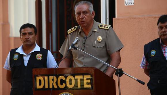 """Jefe de la Dircote denunció que Sendero Luminoso quiere """"reciclarse"""" através de partidos políticos. (USI)"""