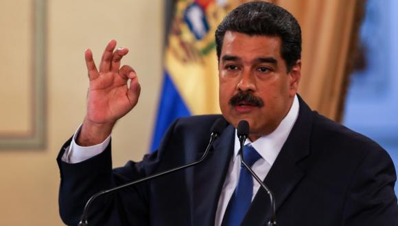 Nicolás Maduro fue reelecto en unos comicios considerados fraudulentos por la comunidad internacional y por ello el Parlamento avala que Guaidó asuma las competencias del Ejecutivo hasta que se convoquen elecciones libres. (Foto: EFE)