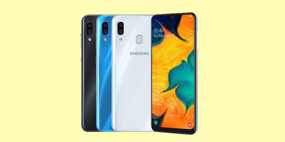 El Samsung Galaxy A30 se puede conseguir a partir de los 920 soles en Perú. ¿Qué otros celulares hay con el mismo precio? (Foto: Samsung)