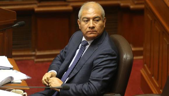 Piden que Wilfredo Pedraza renuncie hoy mismo como ministro del Interior. (USI)