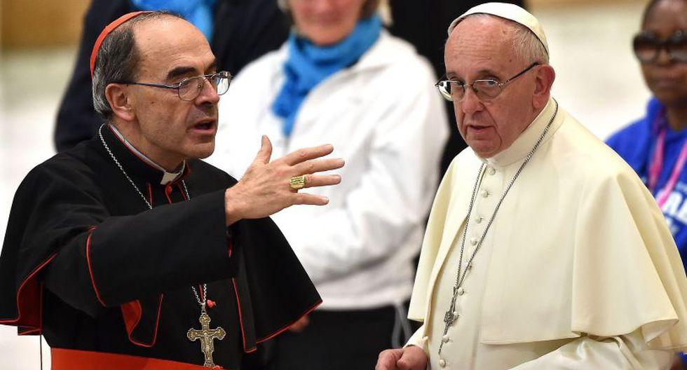 Barbarin había dicho después de su condena que viajaría a Roma para presentar su renuncia al papa Francisco. (Foto: AFP)