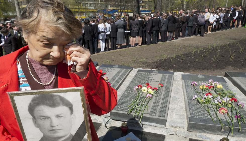 Ucrania conmemoró el 27 aniversario de la explosión del reactor número 4 de la central nuclear de Chernóbil. (Reuters)