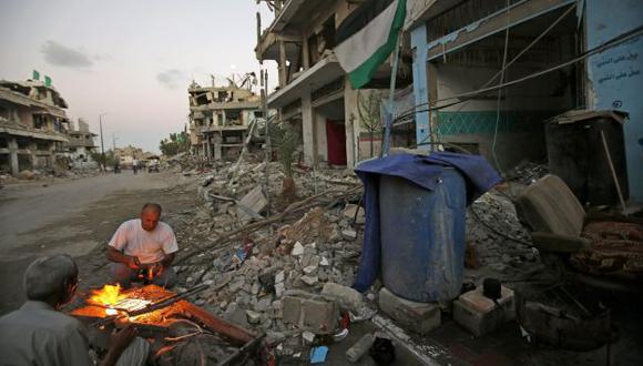 Se reanudará diálogo entre Israel y Palestina para acordar una tregua. (EFE)