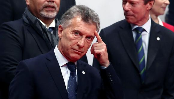 El presidente de Argentina, Mauricio Macri, al comienzo de la conferencia sobre cambio climático de la ONU (COP25) en Madrid, España. (Foto: Reuters)