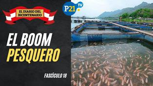El boom pesquero