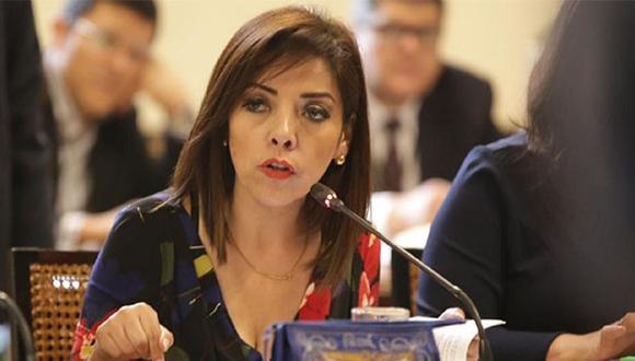 Alejandra Aramayo se mostró a favor de que se revisen las denuncias contra Pedro Chávarry con prioridad. (Foto: Agencia Andina)