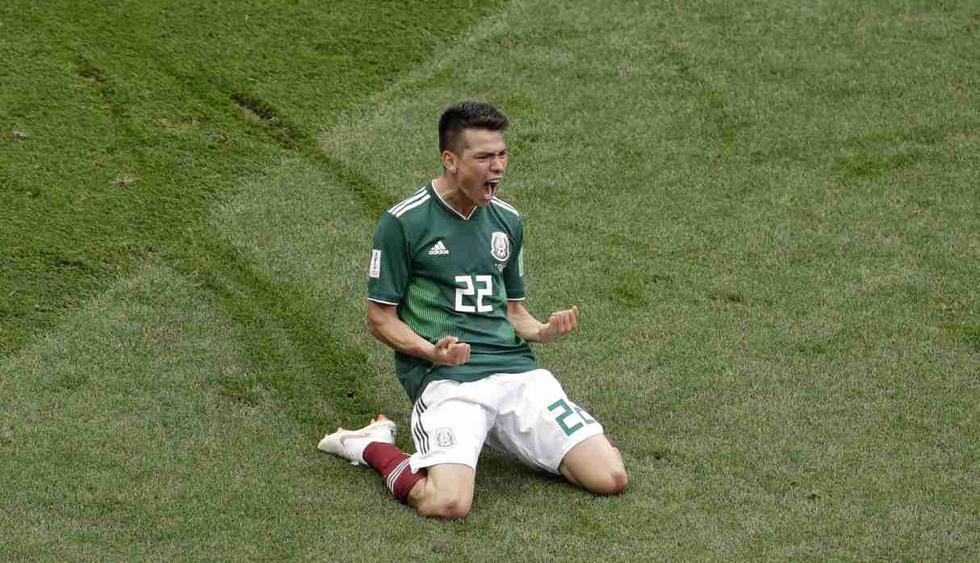 Hirving Lozano. (Foto: AP)