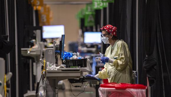 Estados Unidos alcanzó este miércoles 26′545.905 casos confirmados del coronavirus. (Foto: Joseph Prezioso / AFP)