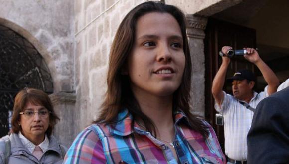 Rosario Ponce consiguió trabajo en Ayacucho tras graduarse recientemente como ingeniera forestal. (USI)