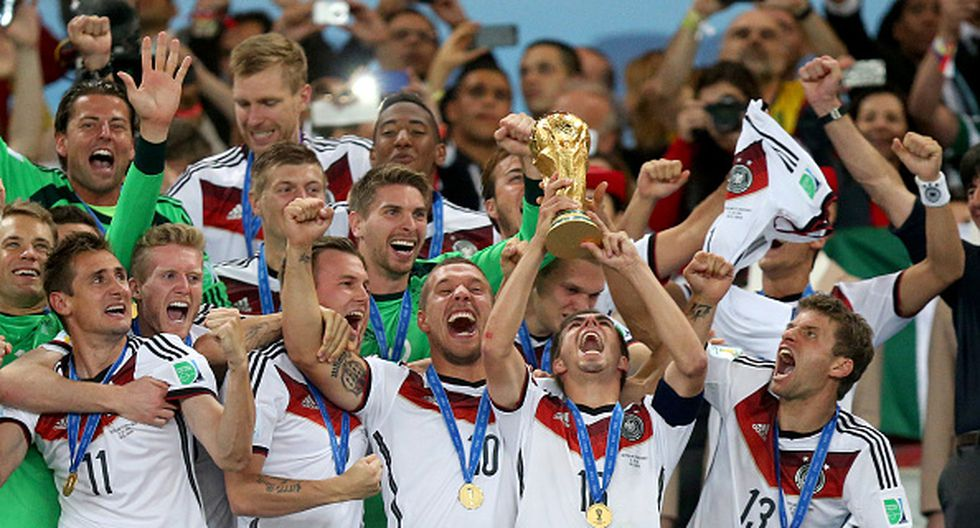 Alemania venció 1 a 0 a Argentina en el tiempo extra de la final. (Getty Images)