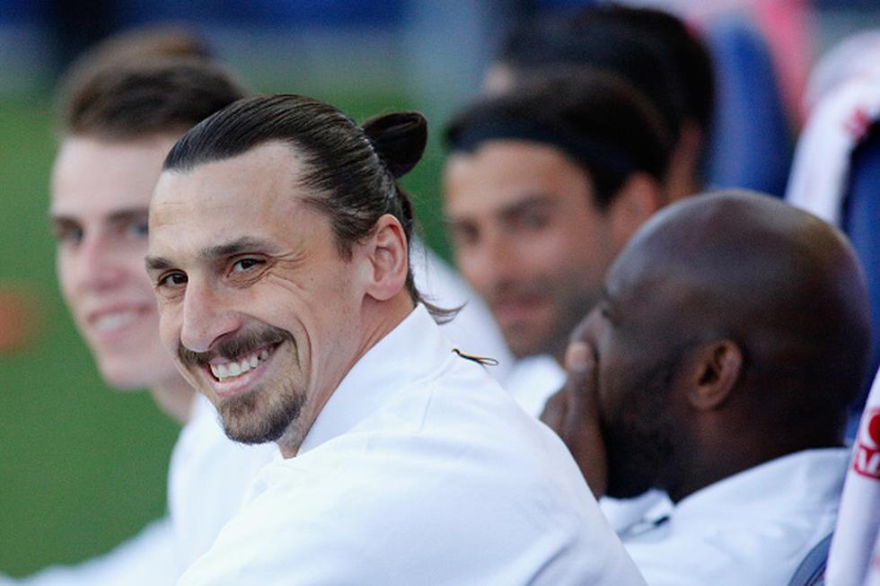 Zlatan Ibrahimovic dejó Manchester United y mudó su fútbol a Los Ángeles Galaxy de la MLS. (GETTY IMAGES)