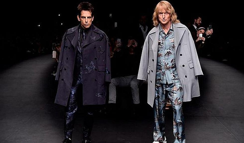 'Zoolander': Protagonistas anunciaron secuela en show de Valentino. (Paramount Pictures)