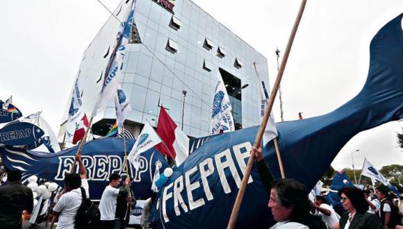El Frepap inscribió ante la ONPE, en el último día de plazo, a sus precandidatos al Congreso y al Parlamento Andino (GEC).