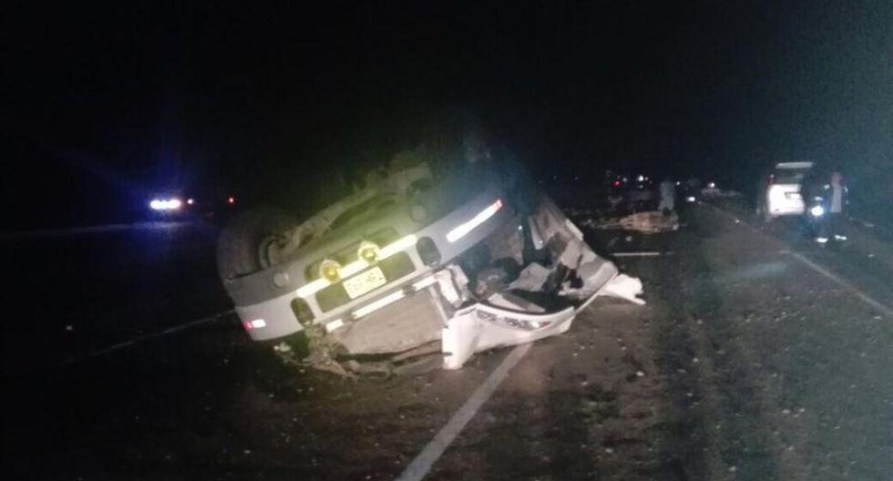 La Policía ha iniciado las respectivas investigaciones del caso para determinar las causas del accidente. (Foto: Andina)