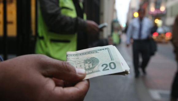 Moneda se ha fortalecido. (Martín Pauca)