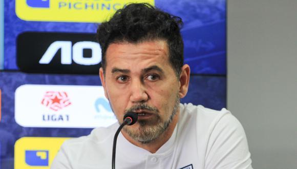 Daniel Ahmed dirigió a Alianza Lima tras la salida de Mario Salas. (Foto: Alianza Lima)