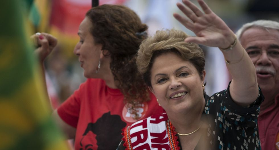 Rousseff busca la reelección. (AP)