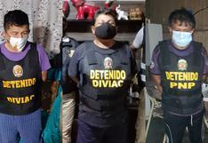 PNP detiene a 10 presuntos integrantes de 'Los ligeros del sur' dedicada a la extorsión y robo de vehículos