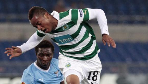 SE LE HIZO. Carrillo terminó su sequía de goles en Portugal. (AP)