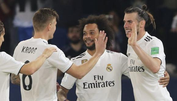 Real Madrid vs. Al Ain se miden en la final del Mundial de Clubes 2018. (Foto: AP)