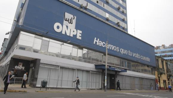 Restauración Nacional envió información a la ONPE sobre aportes fantasmas. (USI)