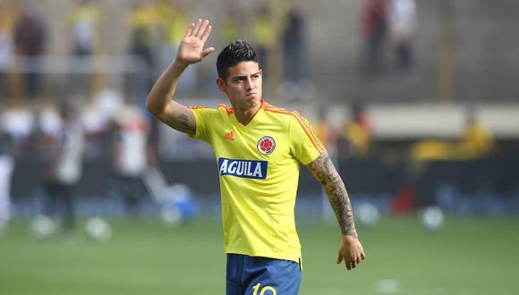 James Rodríguez fue convocado por la selección colombiana para las Eliminatorias. (Foto: GEC)