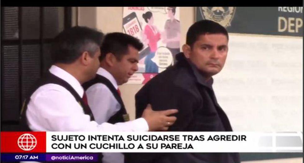 La expareja pide la mayor sanción contra el sujeto. (Foto: Captura/América Noticias)