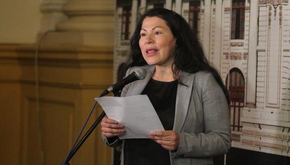 """Yesenia Ponce, congresista no agrupada, señaló que el sueldo de los parlamentarios es """"muy poco"""". (Foto: Congreso de la República)"""