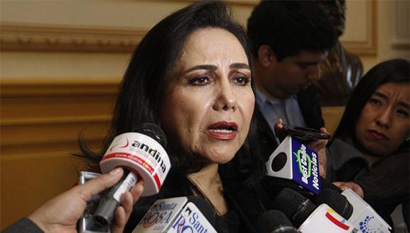 Gloria Montenegro dijo que los integrantes de la Comisión de Alto Nivel para la Reforma del Sistema Político son profesionales con experiencia. (Foto: Agencia Andina)