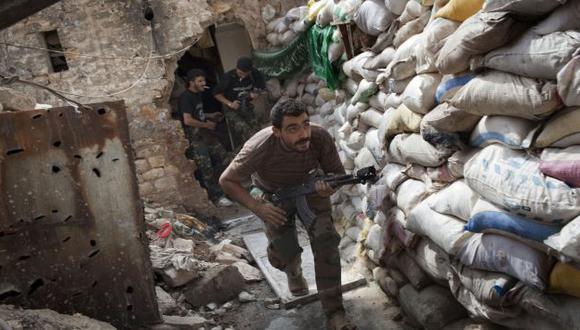 GUERRA SIN FIN. Van más de 2 años de conflicto y no hay visos de que algún bando se imponga. (AFP)